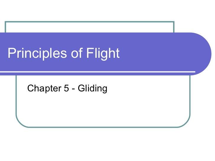 Principles of flight_chapter_5