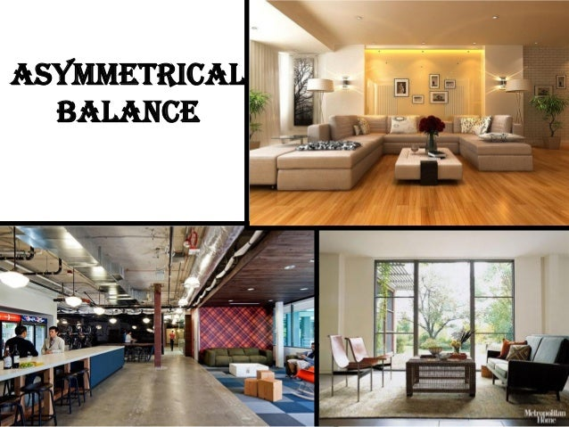 Gallery for examples of asymmetrical balance in interior - Balance in interior design ...
