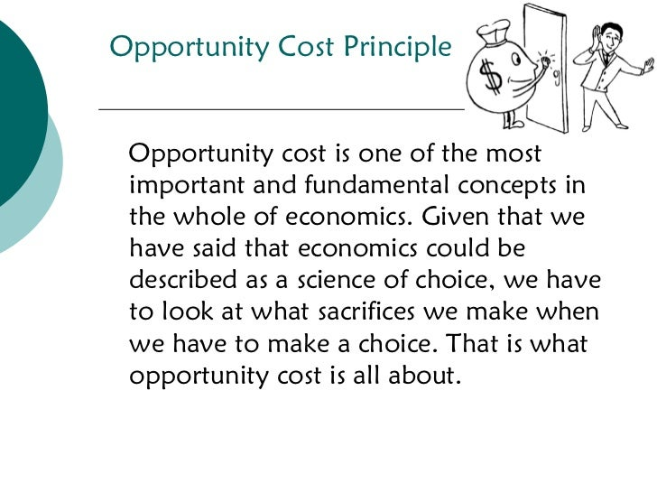 costs and opportunity cost essay Opportunity cost and trade advantages essay unit 1 individual project opportunity cost and trade advantages heather l sellers aiu online, microeconomics econ220-1401a-04 abstract the unit 1 individual project has requested that specific questions in relation to comparative advantage, absolute advantage, opportunity cost and trade be completed.