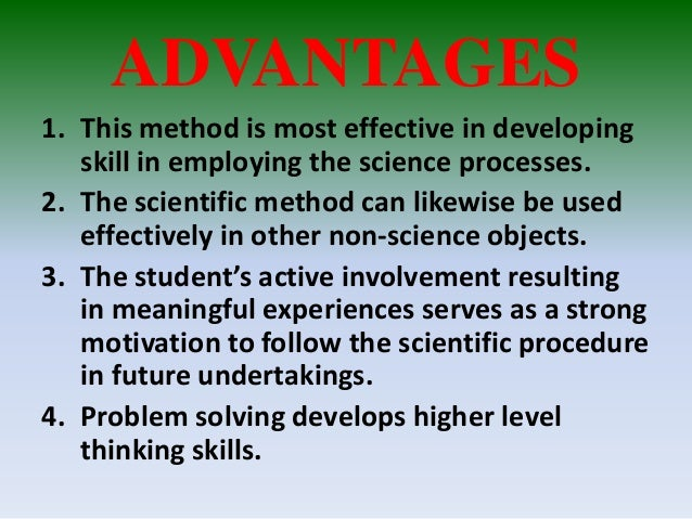 in terms of critical thinking and testing results should