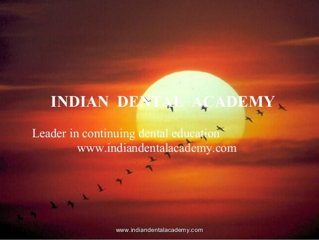 Principles of tooth preparation /certified fixed orthodontic courses by Indian dental academy