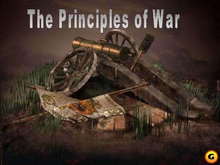 Principles of War - Napoleonic Warfare
