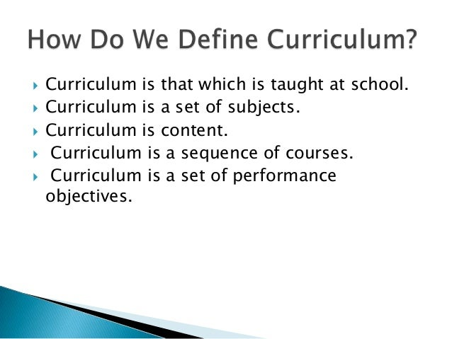 Perspectives Curriculum