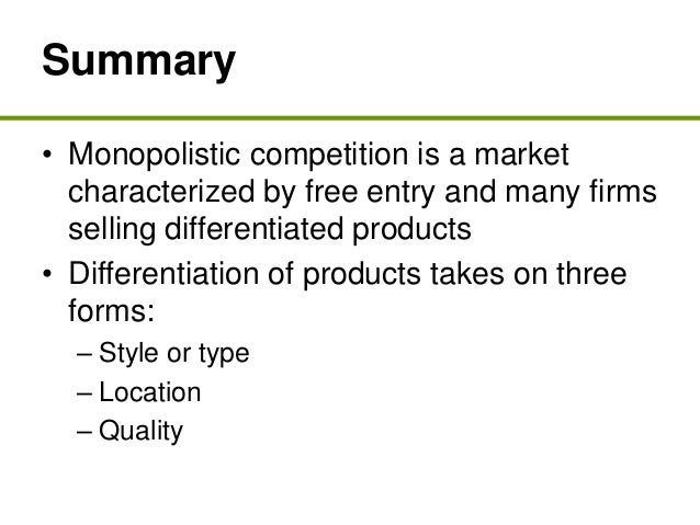 The goal of product differentiation and advertising in monopolistic competition is to make