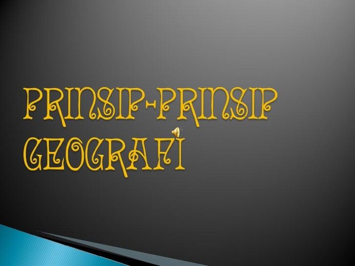 Prinsip geo slasa26