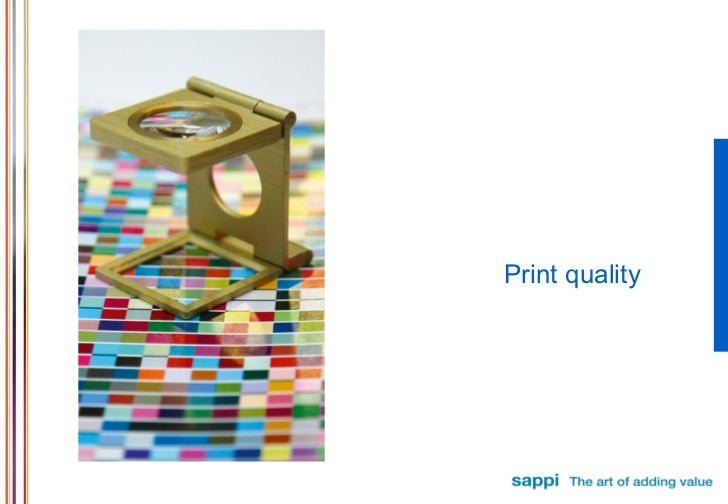 Print quality