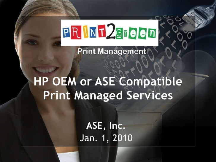 Print2green Managed Print Services