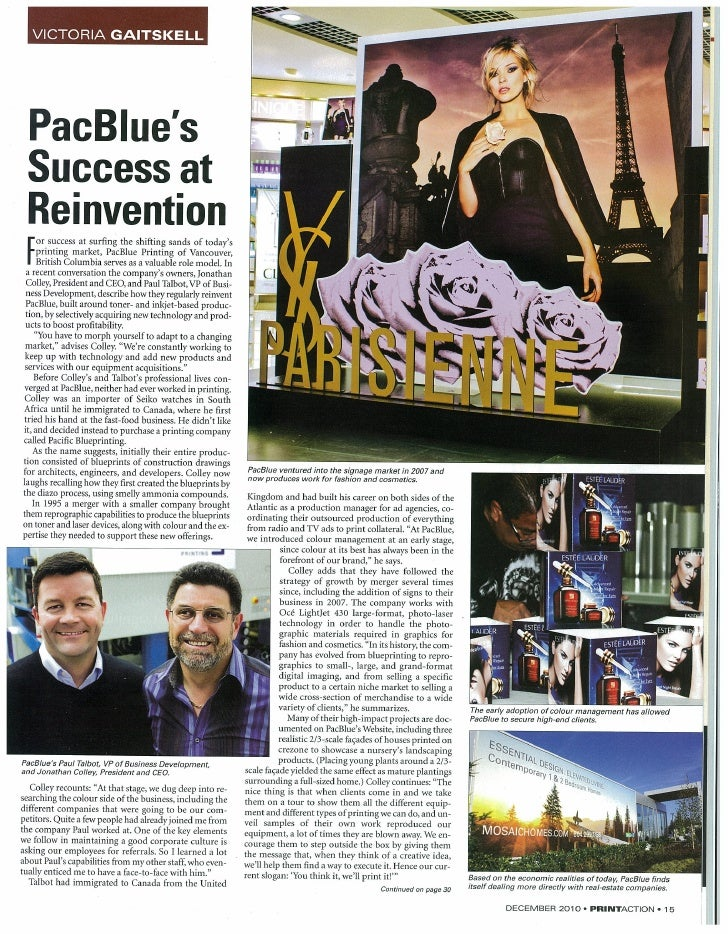 PacBlue's Success at Reinvention