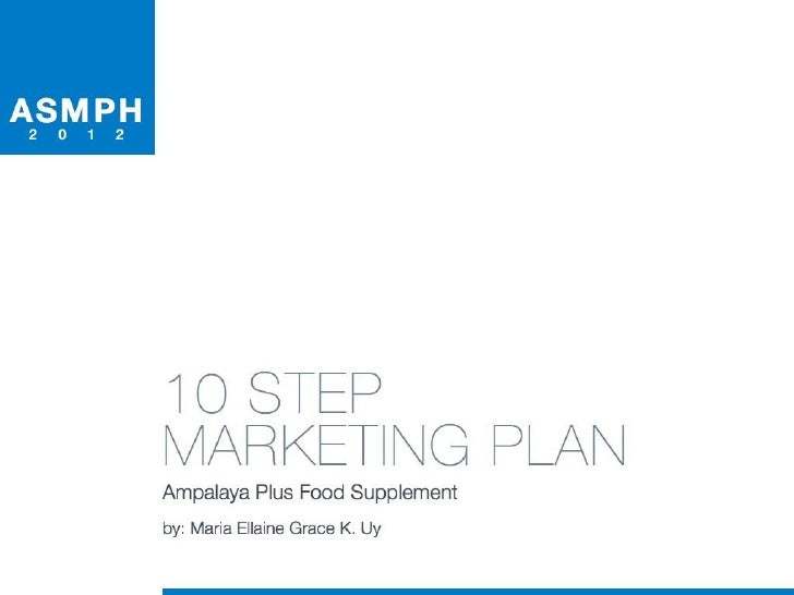 Print Ad Marketing Plan