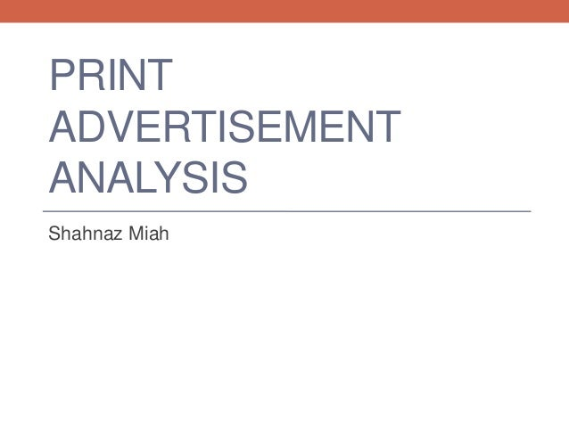 advertisement analysis report Advertisements, however, do more than entertain and sell more than just products  memos, proposals & reports  ad analysis details written by jessica mckee .