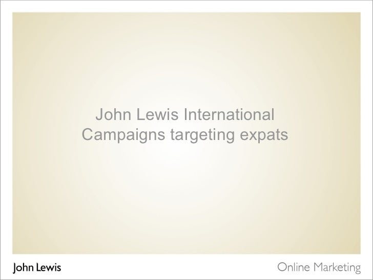Print and online expat campaigns