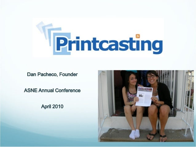 What is Printcasting? The simple niche publishing solution for the rest of us • No software or design skills required. • E...