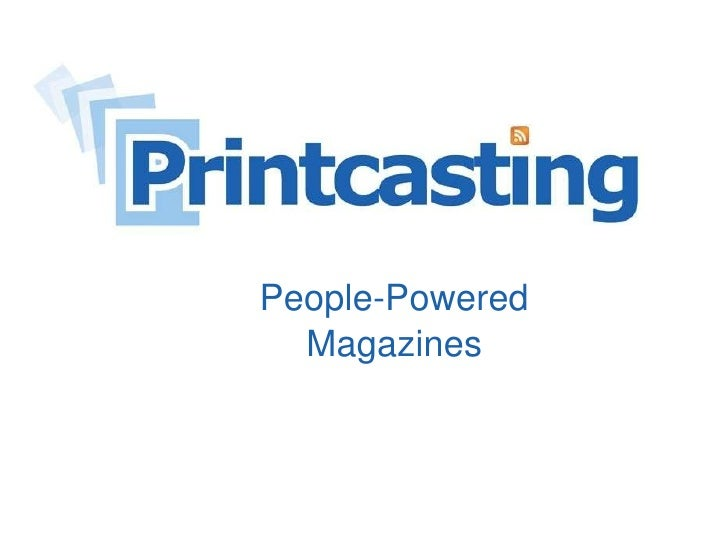 People-Powered Magazines