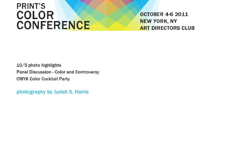 Print's Color Conference