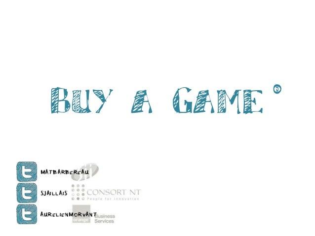 Buy a Game © MatBarbereau SJaillais AurelienMorvant