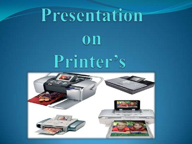 Printer's