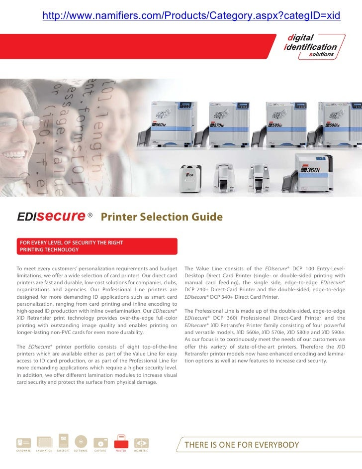 Printer Selection Guide
