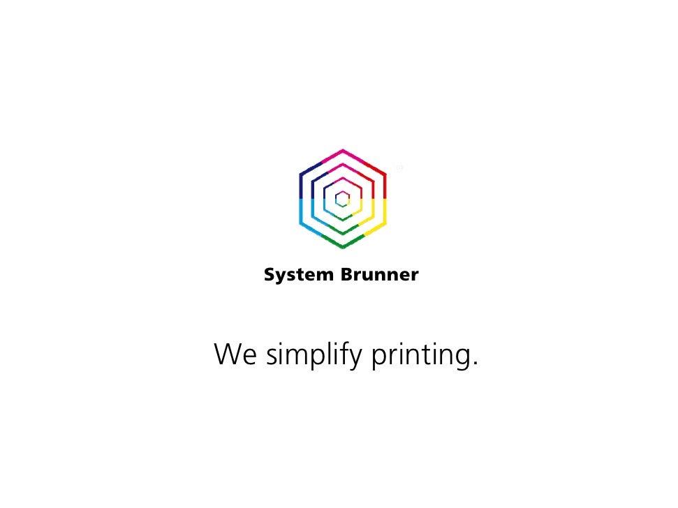 System Brunner Print Expert Suite