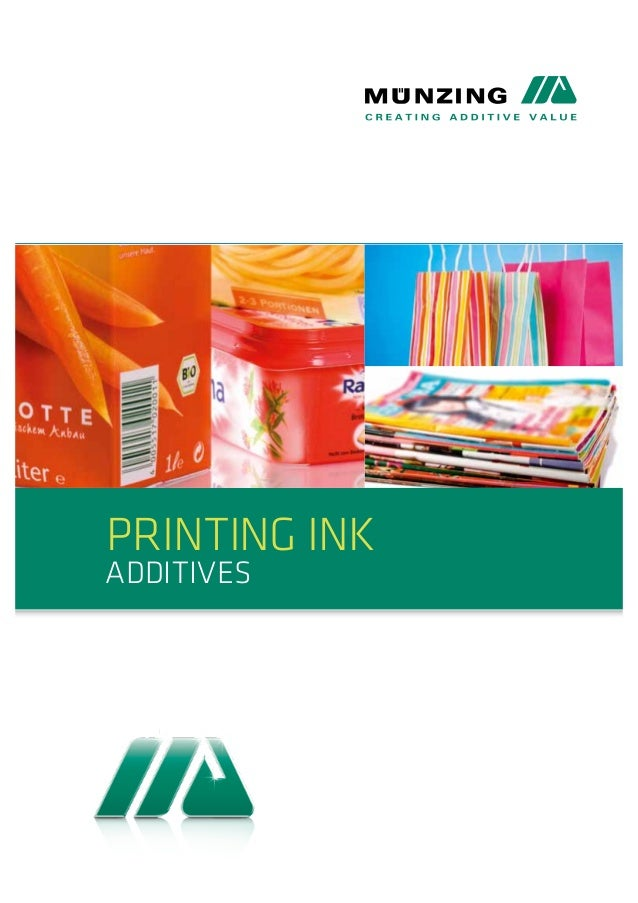 Printing Ink  Additives