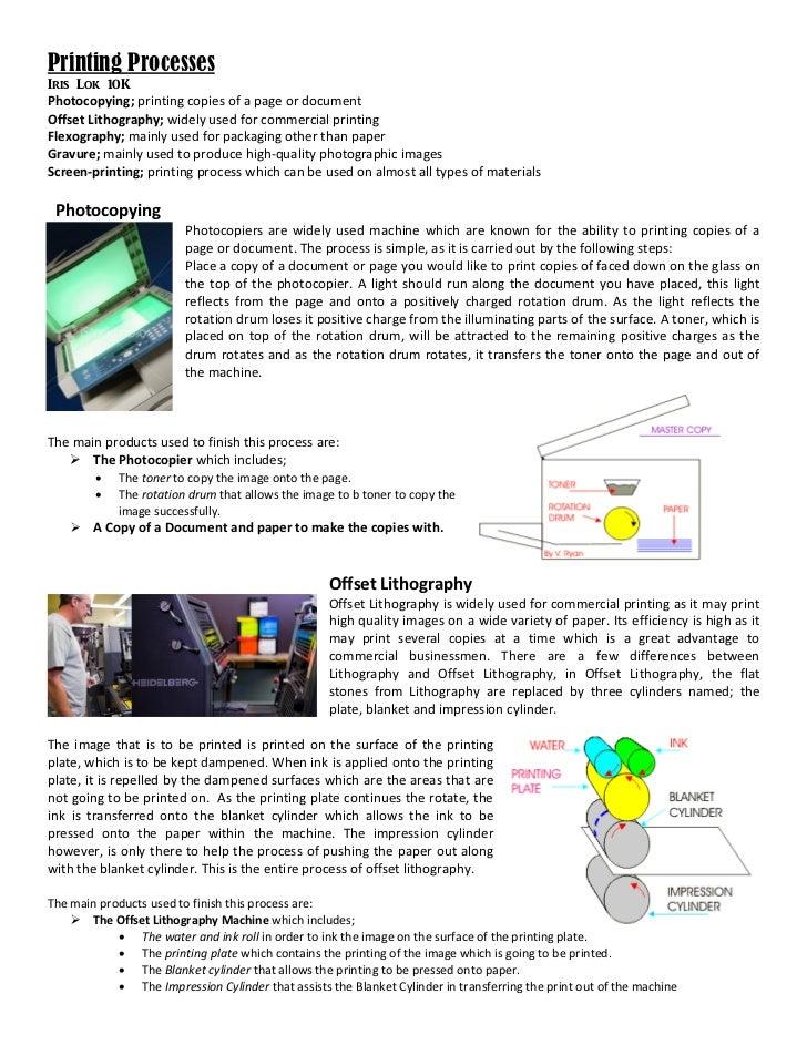 Printing process 2