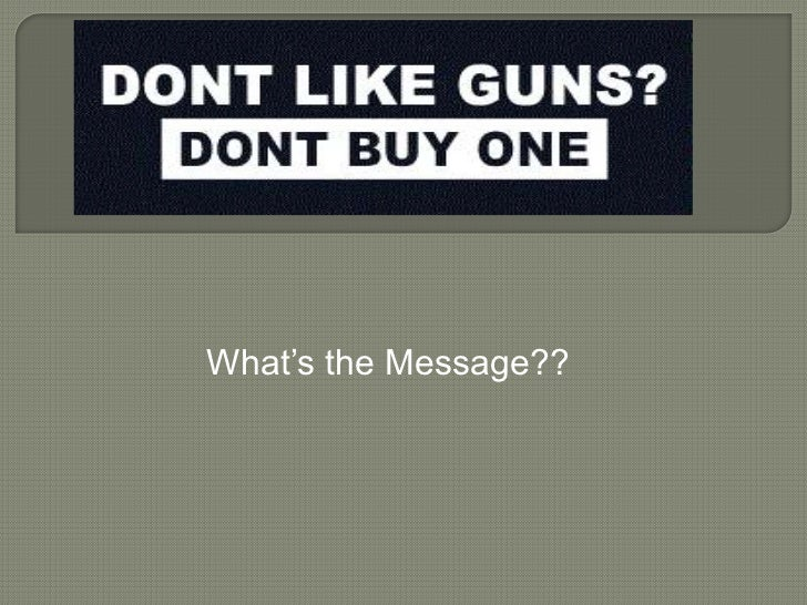 What's the Message??