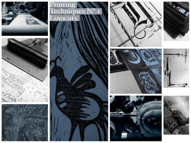 Printing Techniques N°1 Linocuts