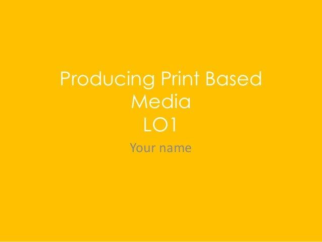 Print lo1 pro forma homework