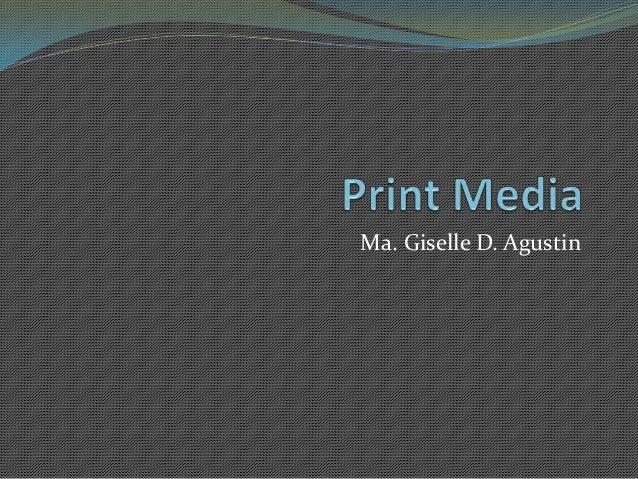 Ma. Giselle D. Agustin