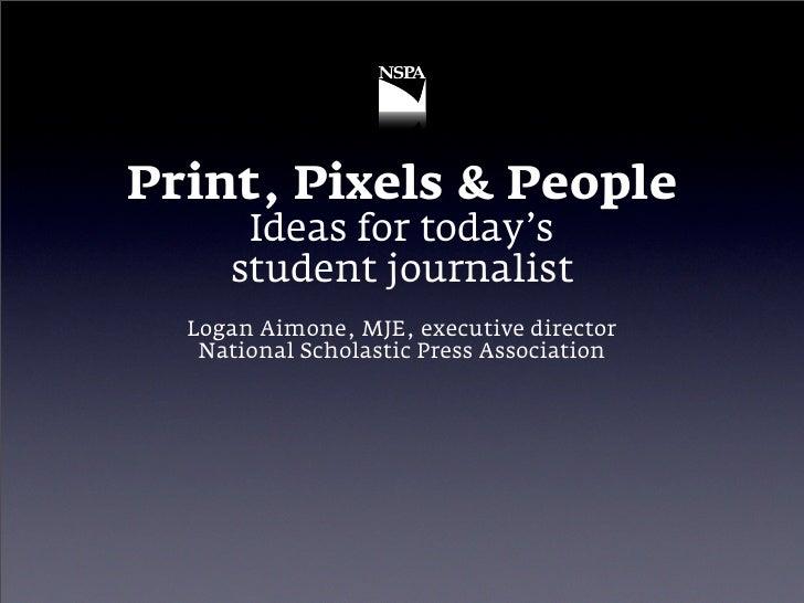 Print, Pixels & People 2009