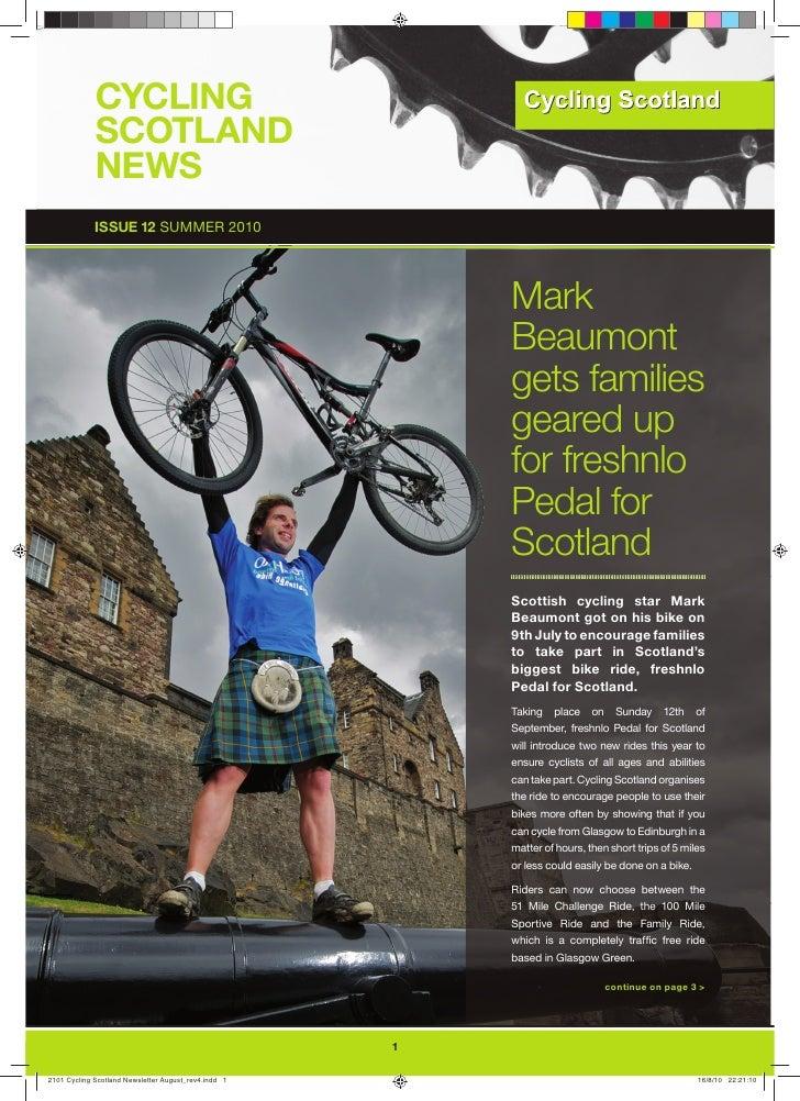 Cycling Scotland Newsletter Autumn 2010