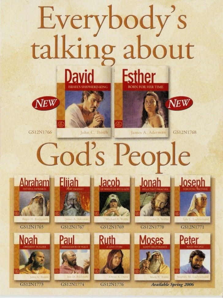 Print Scans: NPH God's People Flier