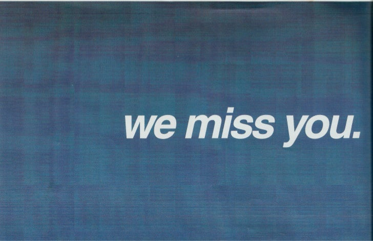 Print Scans: SyNet We Miss You Direct Mail