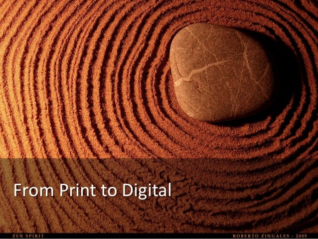 From Print to Digital