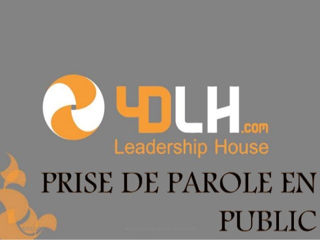 28/02/2015 4D Leadership House Lotfi Saibi 1