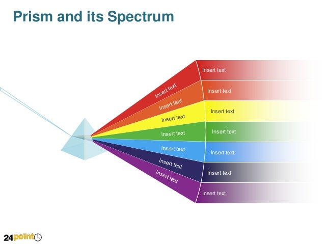 Prism And Its Spectrum Powerpoint Slide