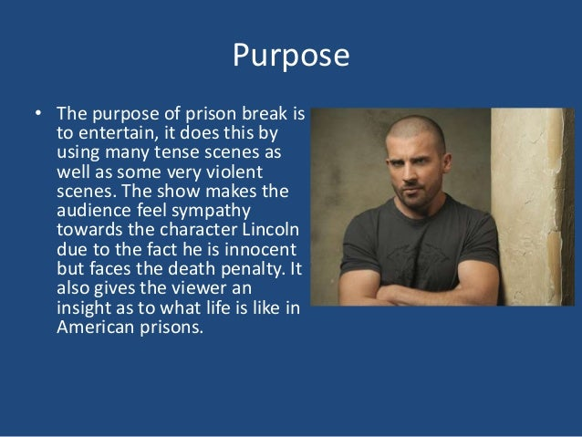 'the purpose of prison is to I think that in the us there is no coherent purpose for prison- possibly with the exception of making money for prison companies this is a problem because everyone wants prison to be something different, but without establishing a common theory of incarceration we don't know what it's supposed to be.