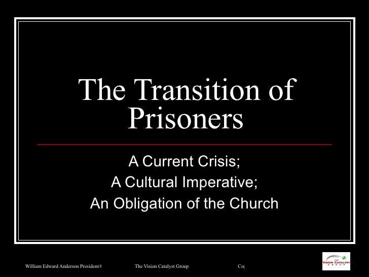 Prisoner Reentry And The Black Church Community