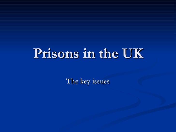 Prisons in the uk
