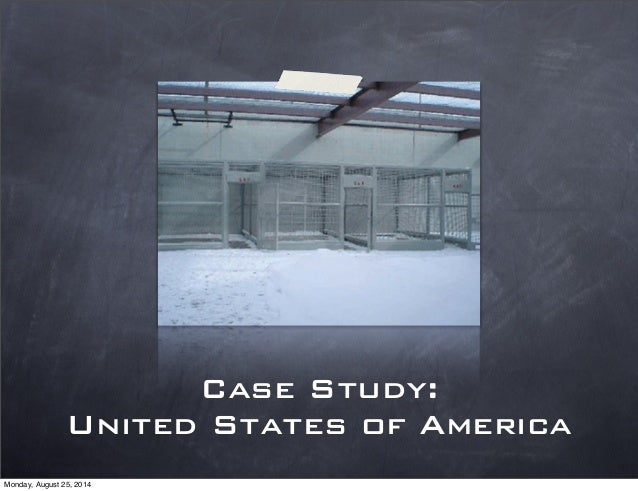 a study on the united states prison system
