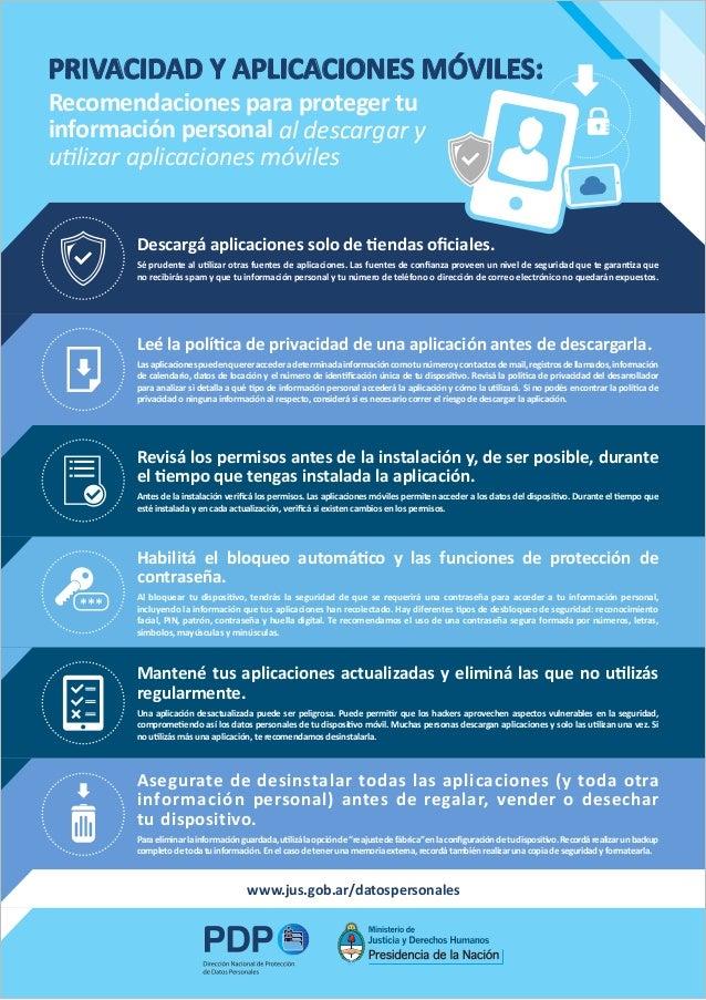 Privacidad y aplicaciones móviles
