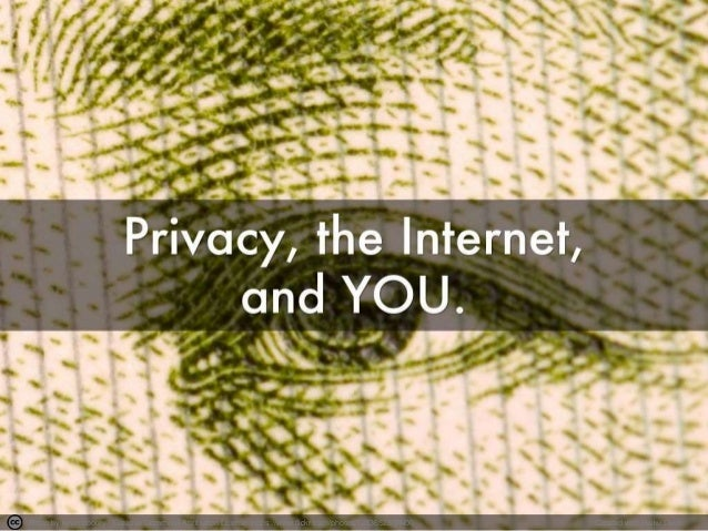 Privacy, the Internet, and You!