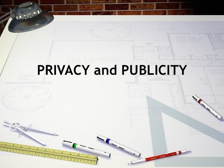 Privacy 2011 spring