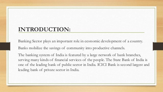 comparison of public and private banks A public sector bank is a bank in which the major part of stake or equity is held by the government private sector banks are banks in which greater part of stake or equity lies in the hands of private shareholders.