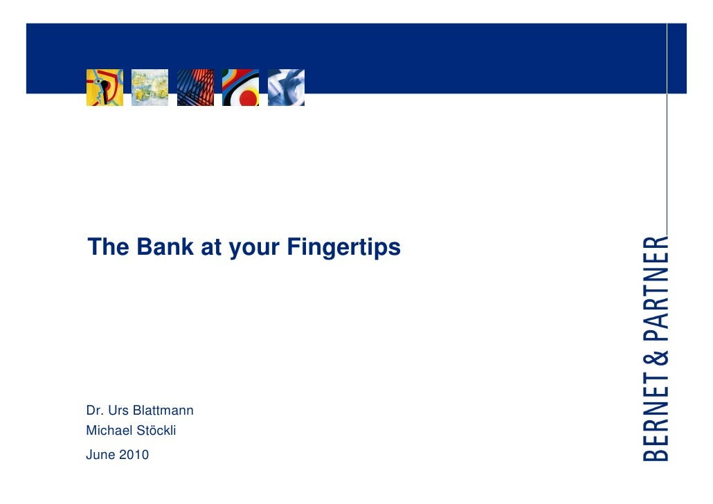 The bank at your fingertips