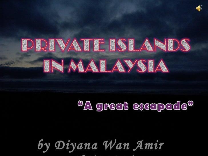 Private islands in Malaysia