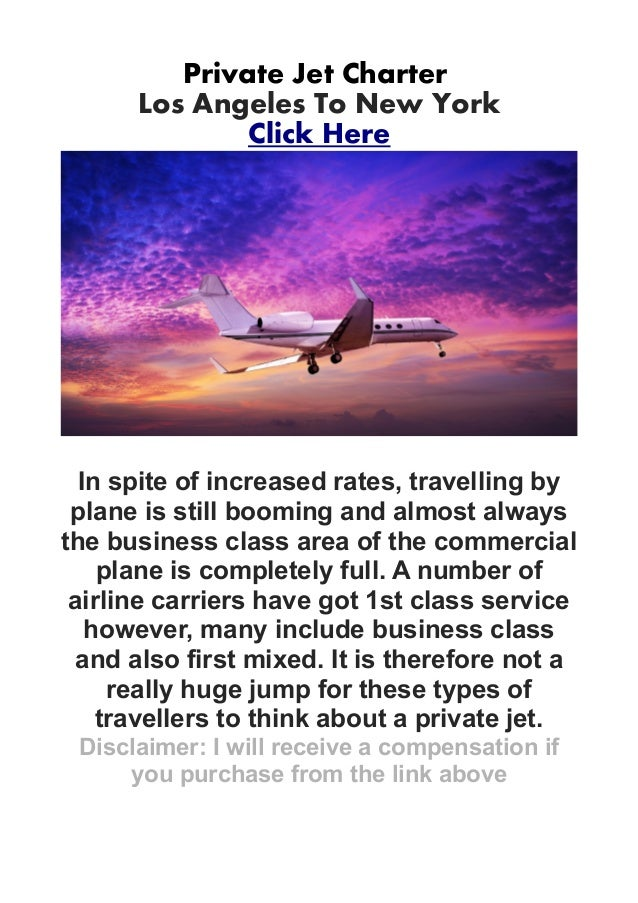 Private Jet CharterLos Angeles To New YorkClick HereIn spite of increased rates, travelling byplane is still booming and a...