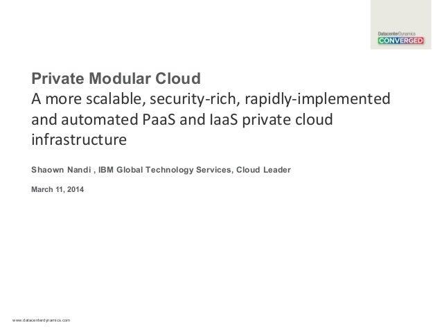 IBM Private Modular Cloud