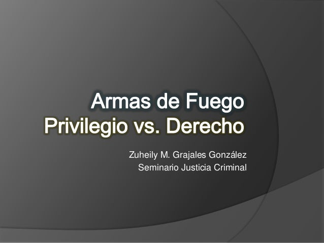 Privilegio vs. Derecho
