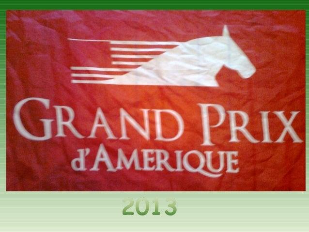 Prix d'amerique 2013
