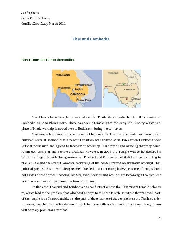 thai and cambodia
